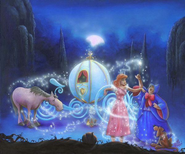 Disney Princess Fine Art Dreams True