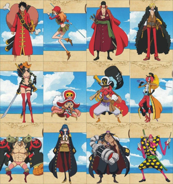 One Piece Characters - Exploring Mars