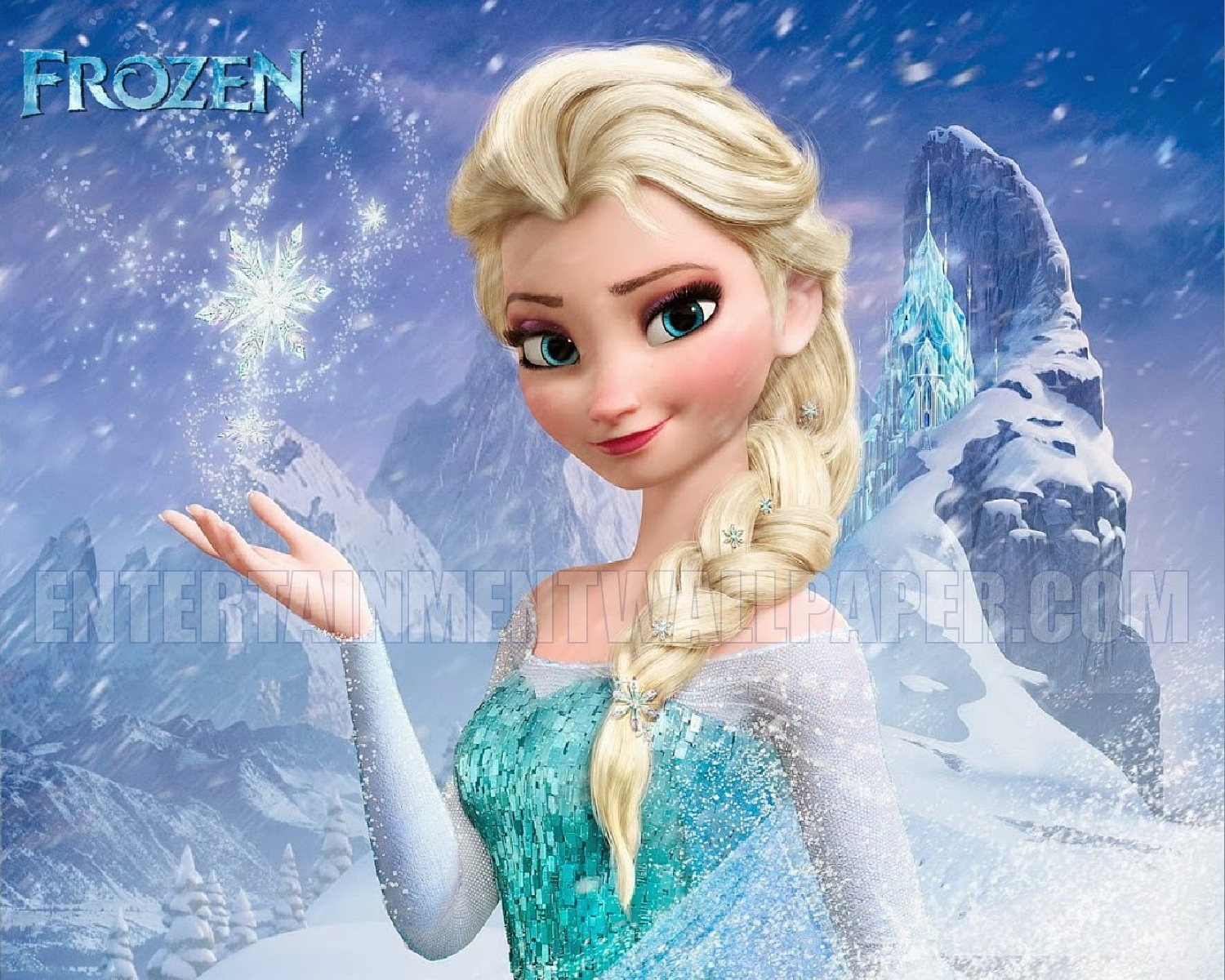 Queen Elsa Wallpaper  Frozen Wallpaper (37370228)  Fanpop