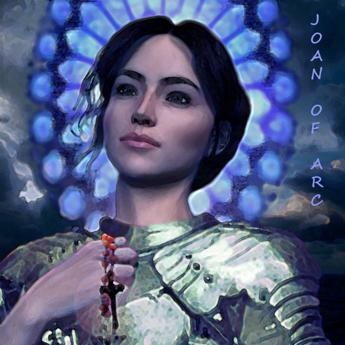 Joan of Arc - angels Photo