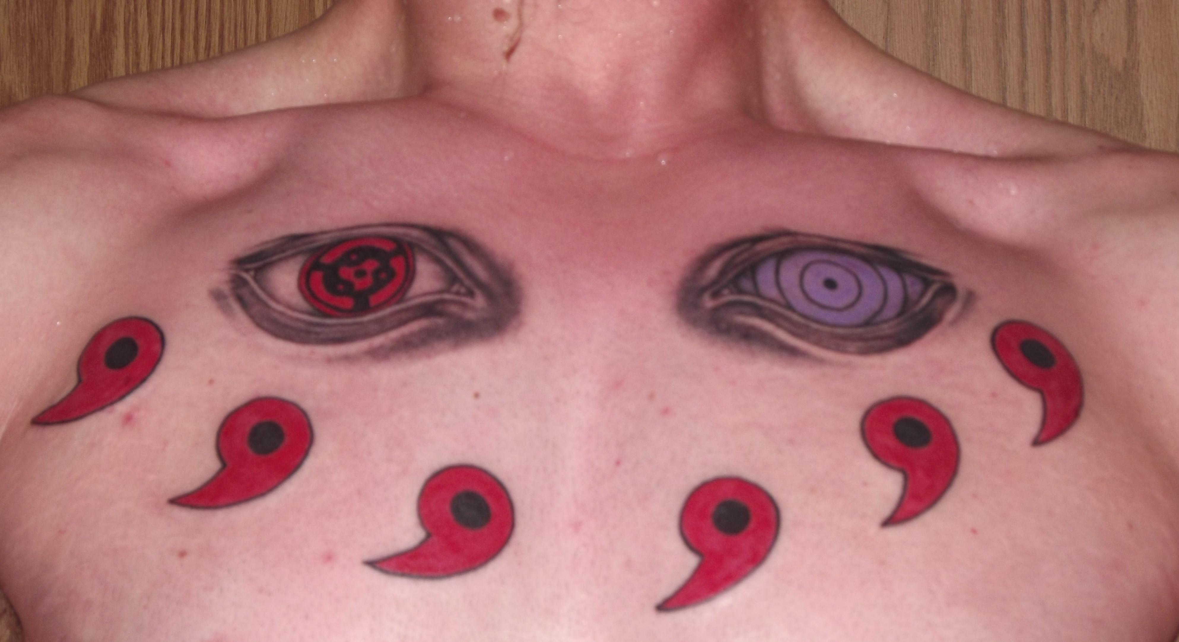Naruto Tattoo Naruto Shippuuden Litrato 37532501 Fanpop