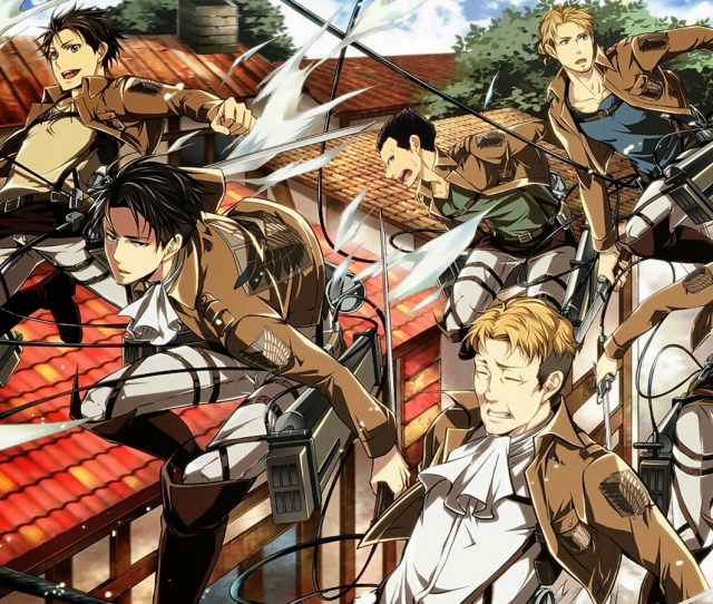 Shingeki No Kyojin Attack On Titan Images Levi Squad Hd Wallpaper And Background Photos