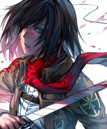 Al parecer, los capítulos filtrados del capítulo final de shingeki no kyojin cambian el destino de mikasa (foto: Shingeki no Kyojin (Attack on titan) images Mikasa ...