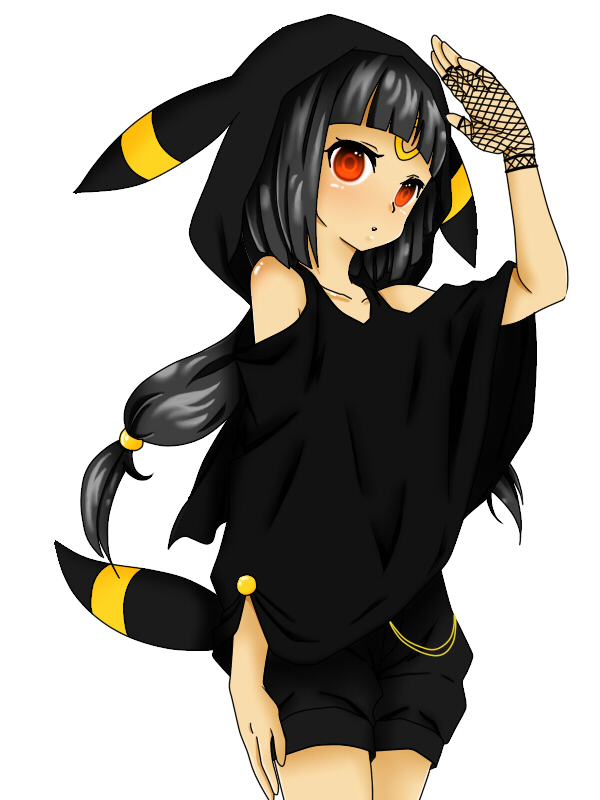 umbreon girl pokemon anime