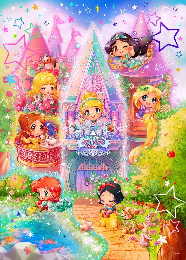 Fall Scarecrow Wallpaper Disney Princess Images Adorable Chibi Princesses Hd