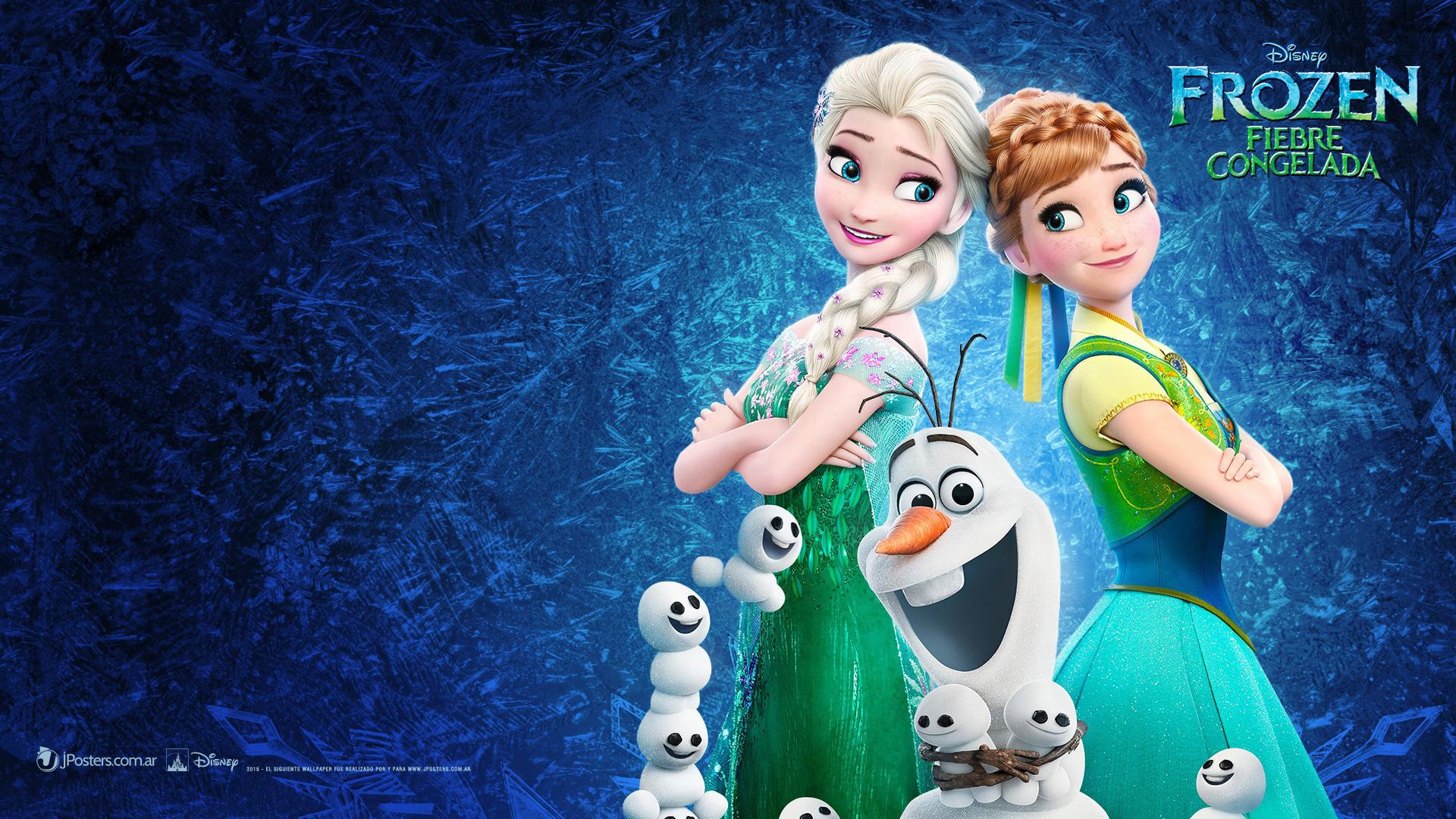 Frozen Fever Wallpaper  Elsa and Anna Wallpaper 38273104
