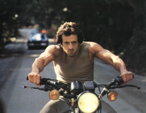 Image result for rambo first blood motorcycle