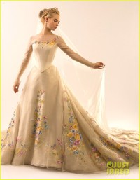 Cinderella's wedding dress