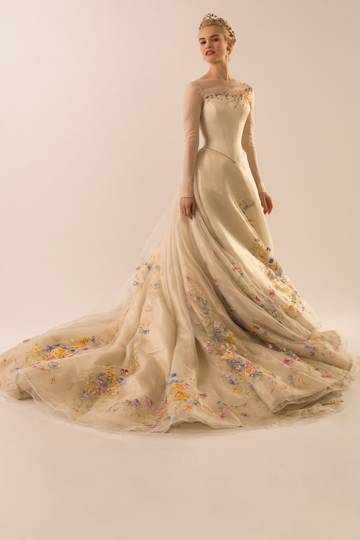 Cinderella's wedding dress