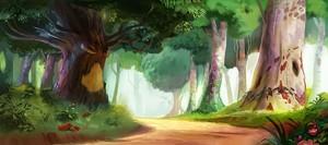 forest magical purple fantasy fanpop