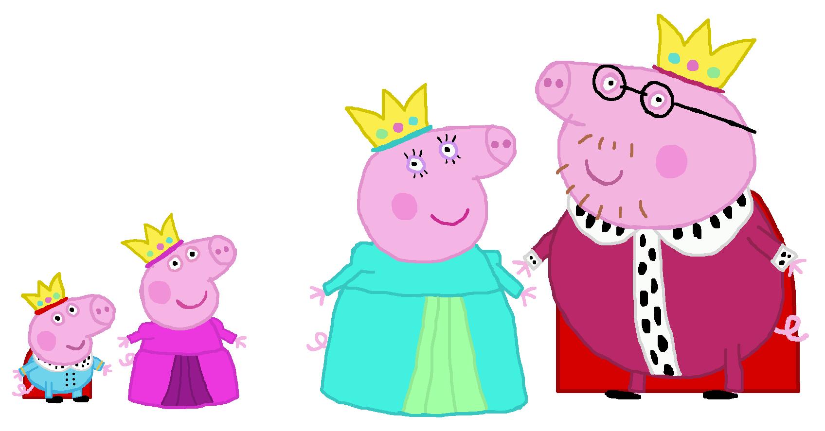 Peppa Pig images Royal family Peppa Pig HD wallpaper and