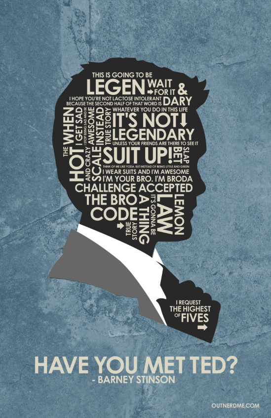 Himym Quotes Wallpaper How I Met Your Mother Barney Quotes Quotesgram