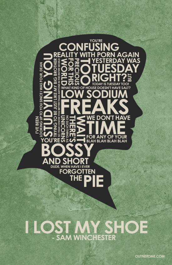 Dean Winchester Quote Wallpaper Iphone Supernatural Sam Quotes Quotesgram