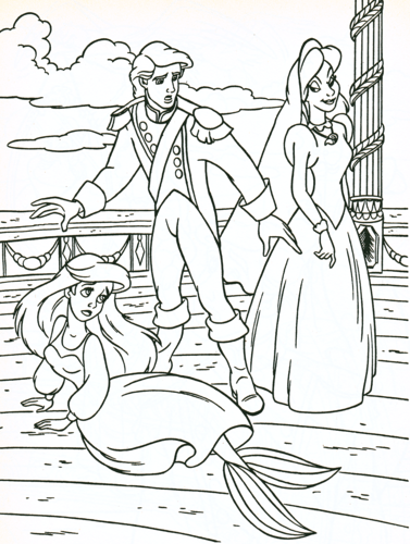 """Search Results for """"Vanessa Little Mermaid Coloring Pages"""