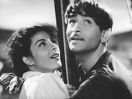 Image result for raj kapoor nargis young