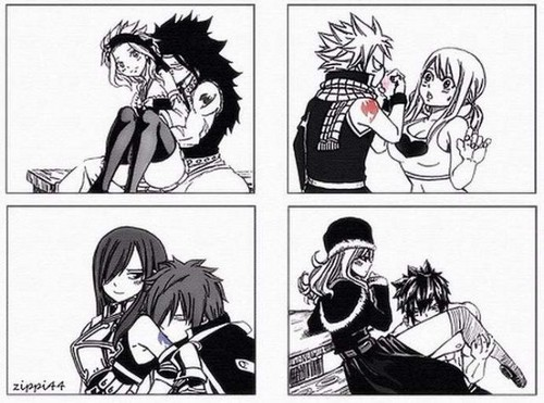 Fairy Tail images Fairy tail Couples wallpaper and