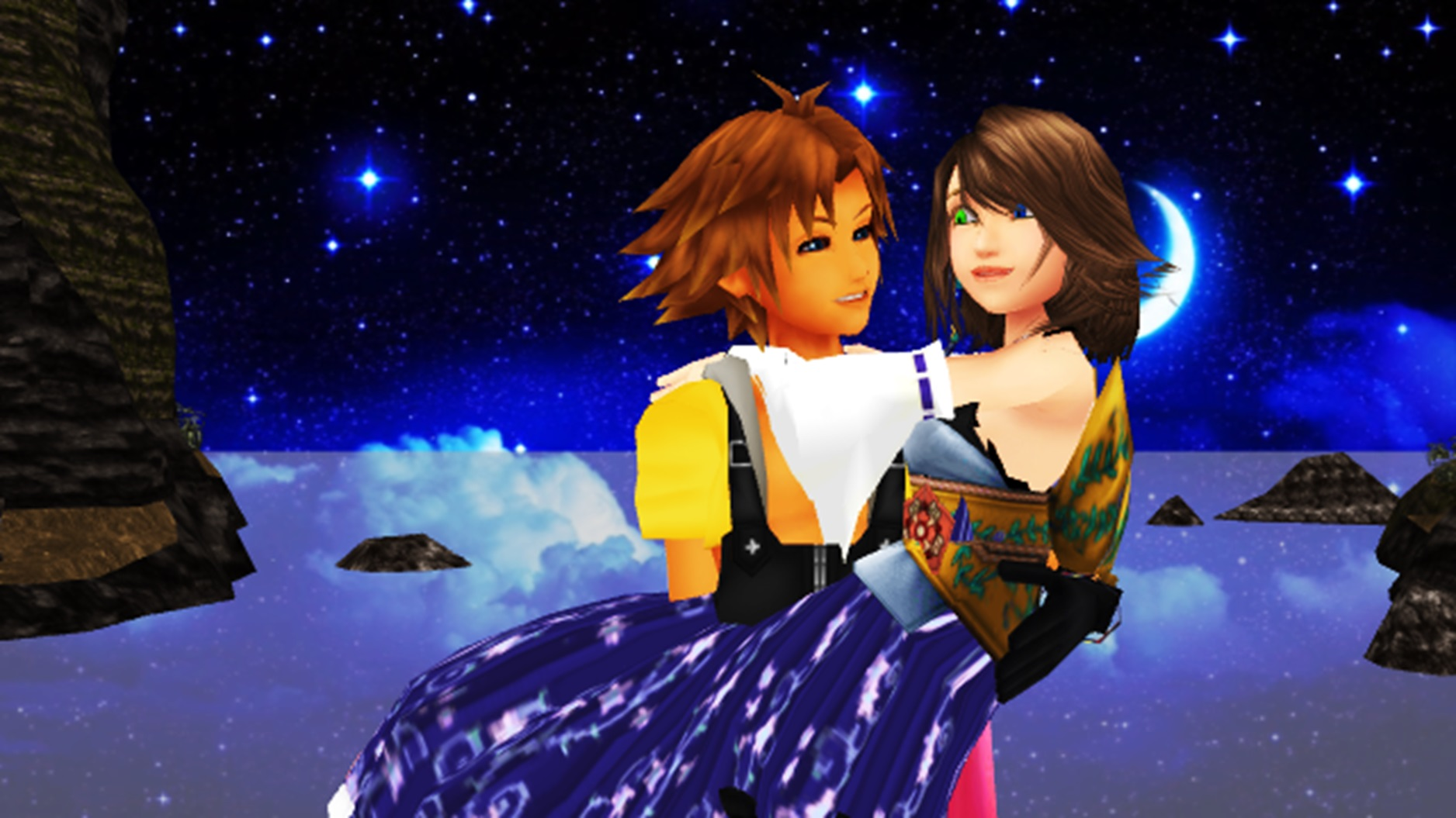 Final Fantasy X Wallpaper Tidus And Yuna