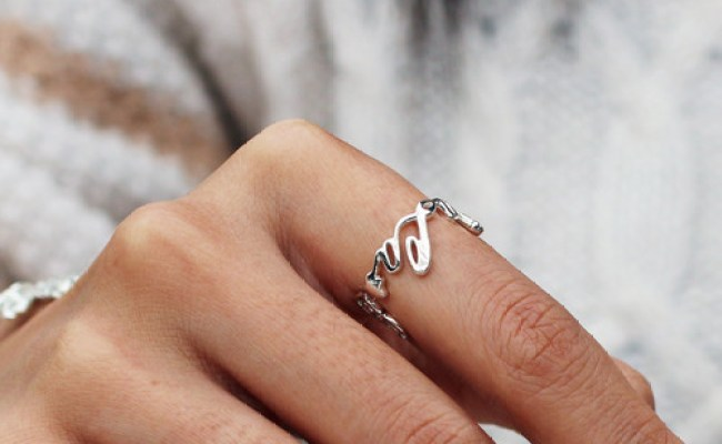 Vulcanjewelry Images Personalized Name Ring Unique