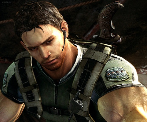 Image result for Chris Redfield