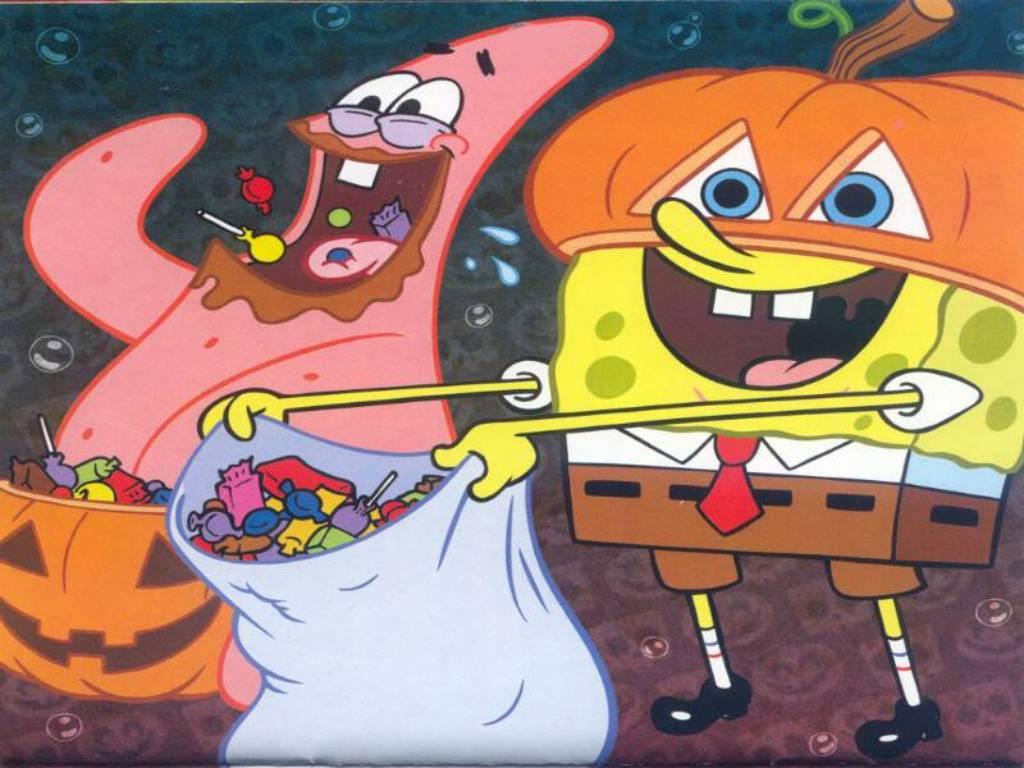 spongebob and patrick halloween