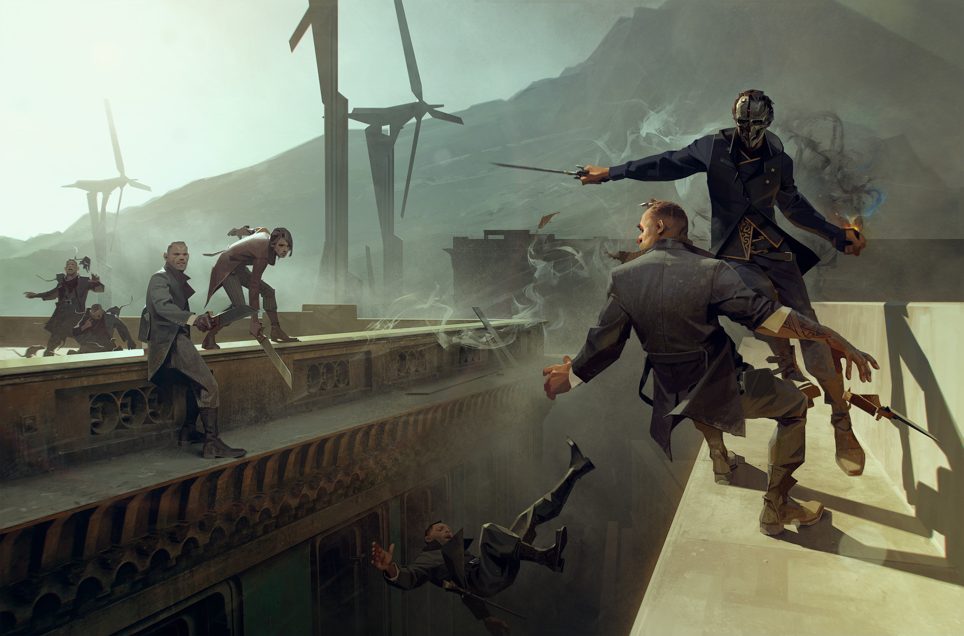 dishonored concept art dishonored
