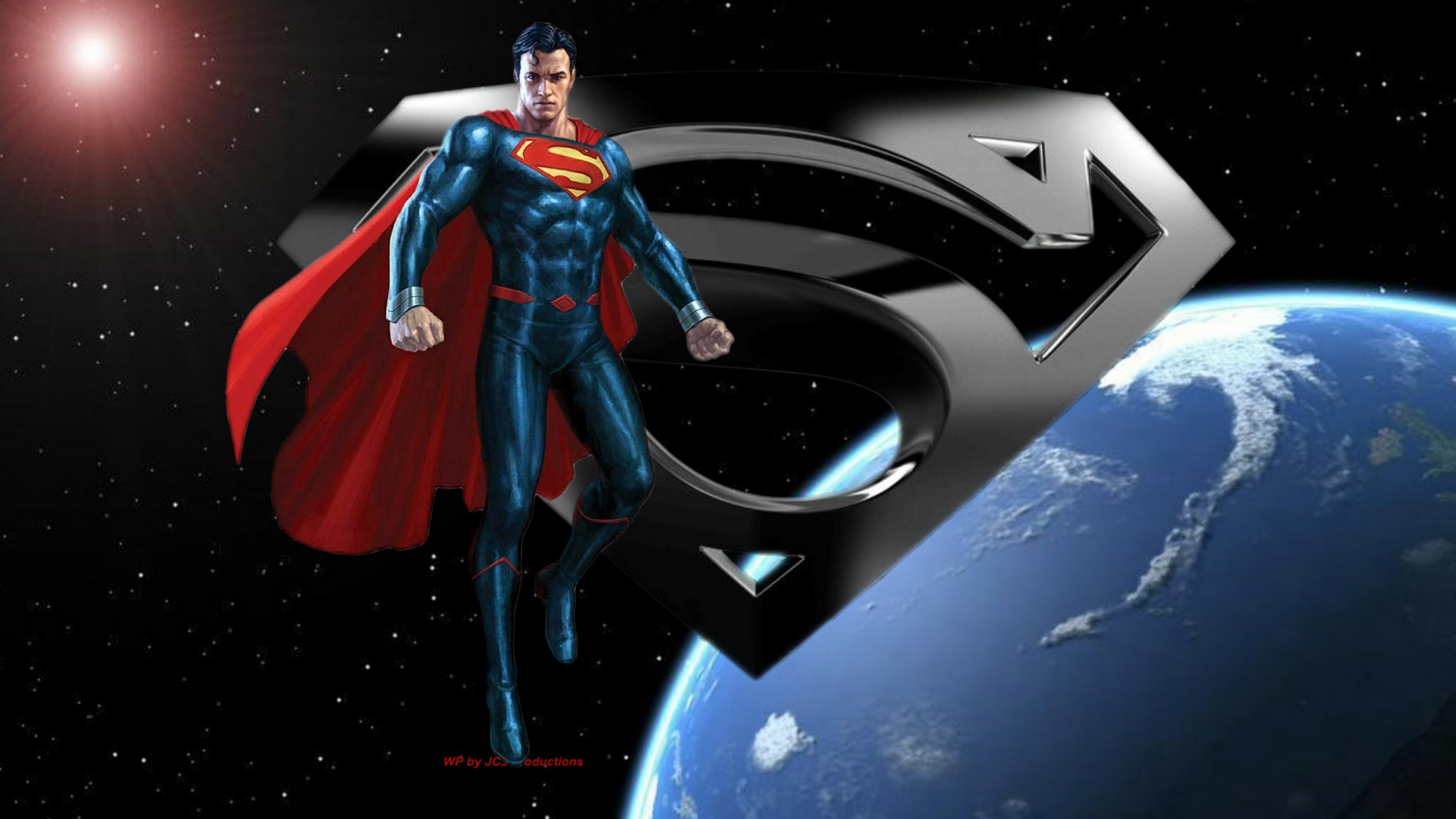 dc comics images superman in space 3c hd wallpaper and background