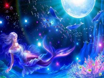 Beautiful Mermaid Magical Creatures Wallpaper 41116593 Fanpop