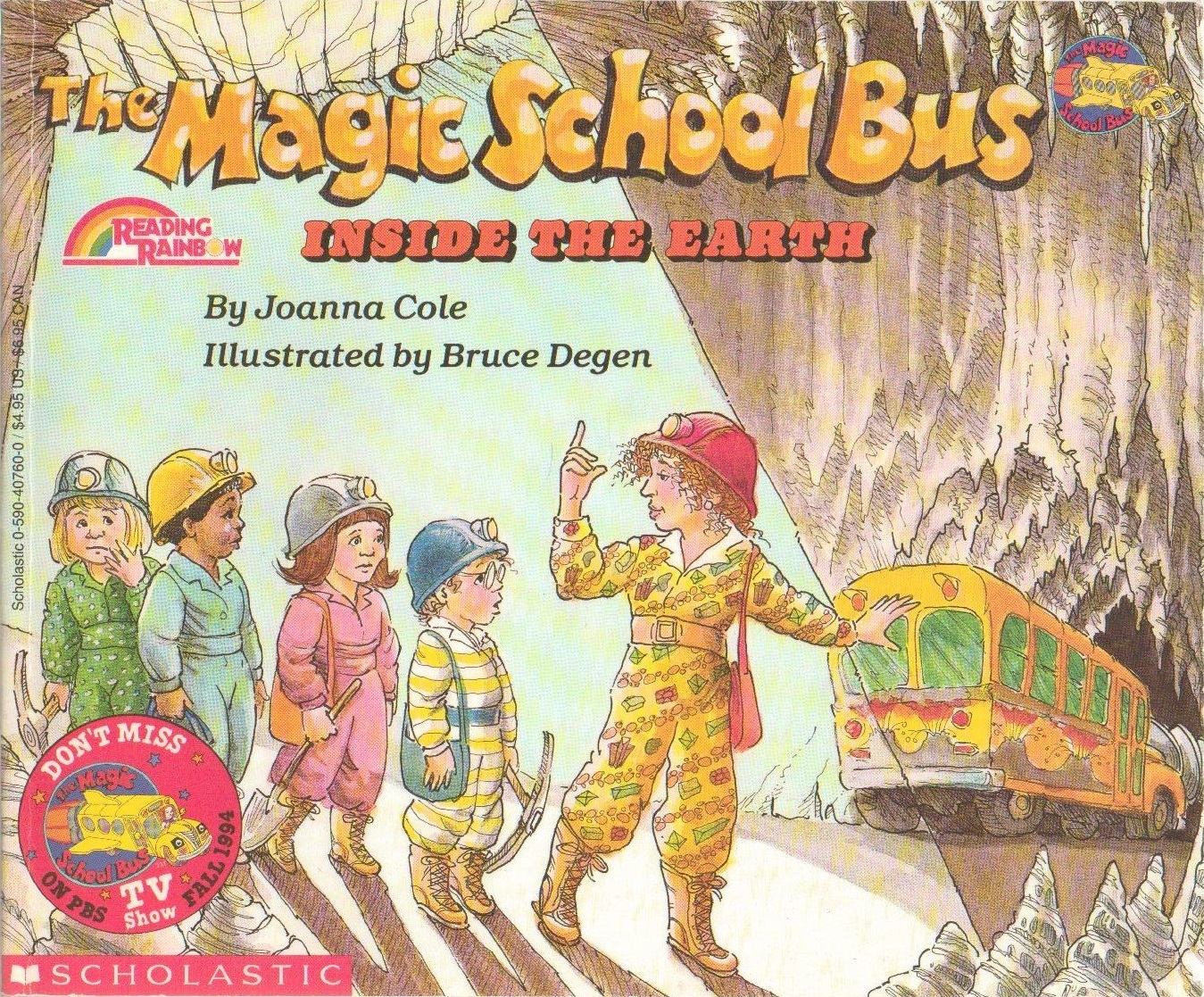 The Magic School Bus Inside The Earth