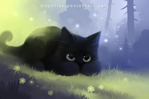 Image result for cat art