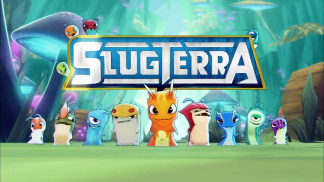 slugterra logo and slugs