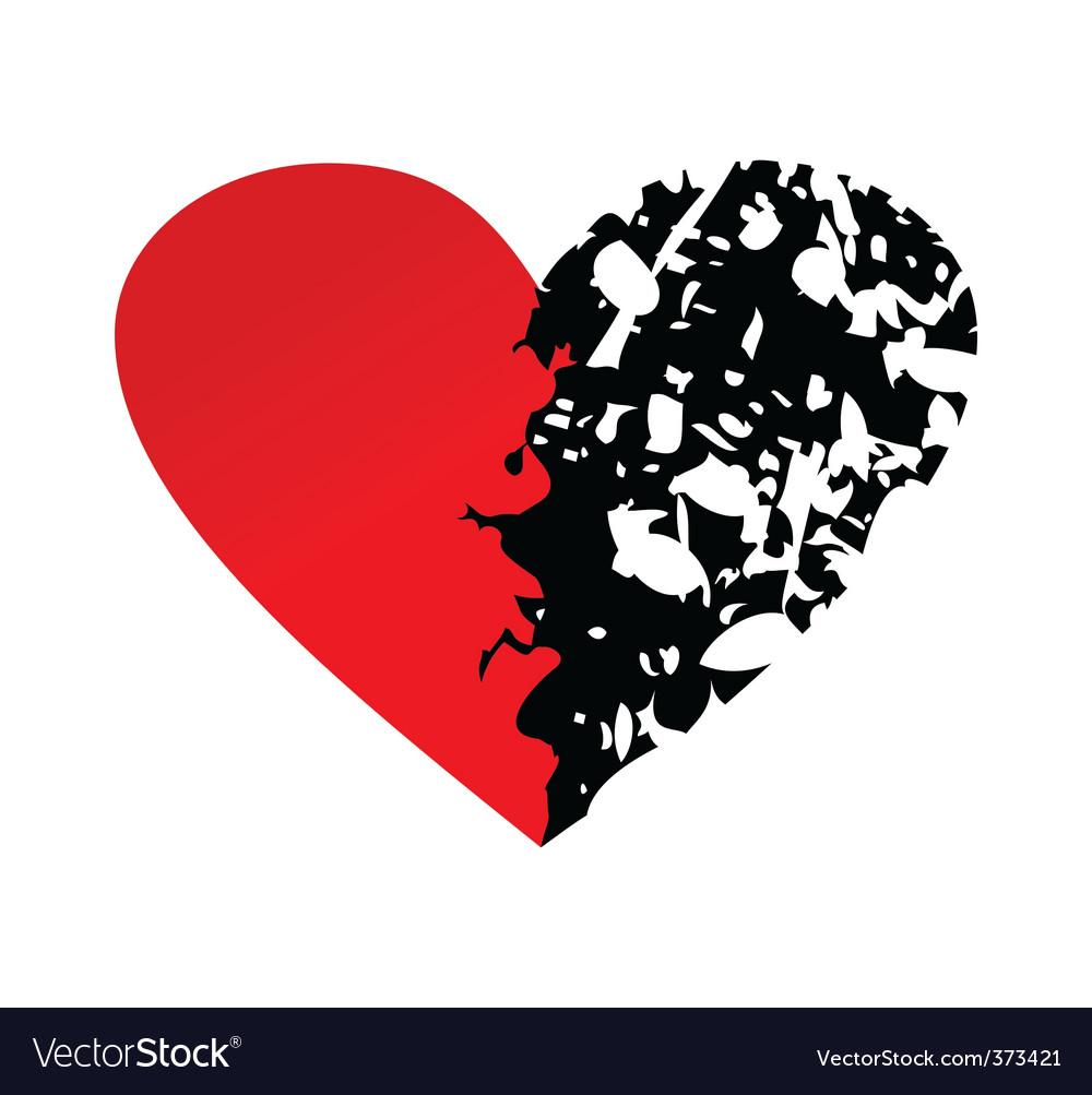 Heart Broken Girl Wallpaper Hd Emo Foxygirl Images Broken Heart Vector 373421 Hd