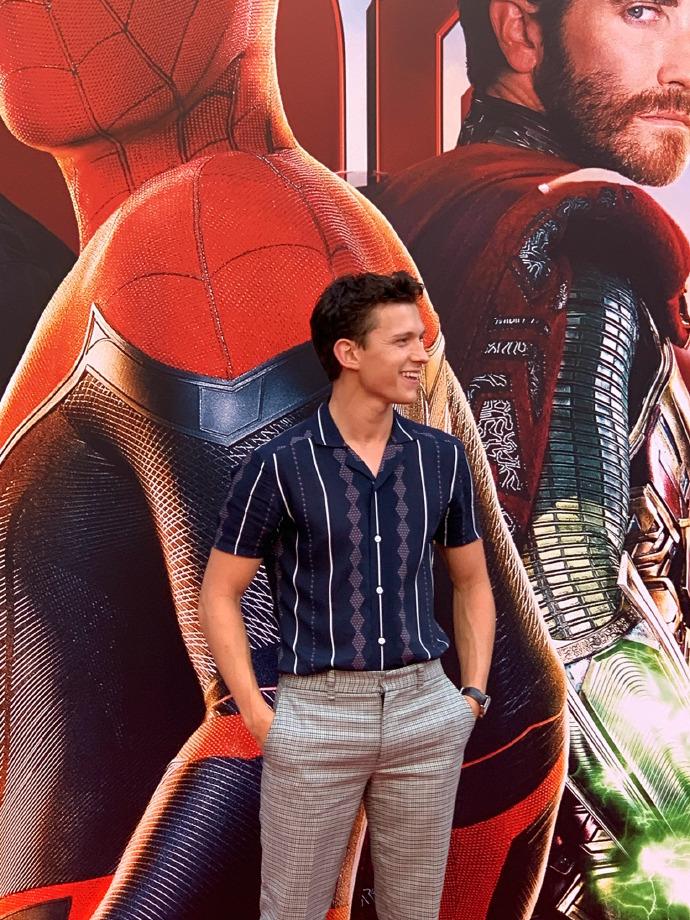 Spider Man Far From Home Screencaps : spider, screencaps, Spider-Man:, Press, Event, Beijing, (June, 2019), Spider-Man, Photo, (42853258), Fanpop