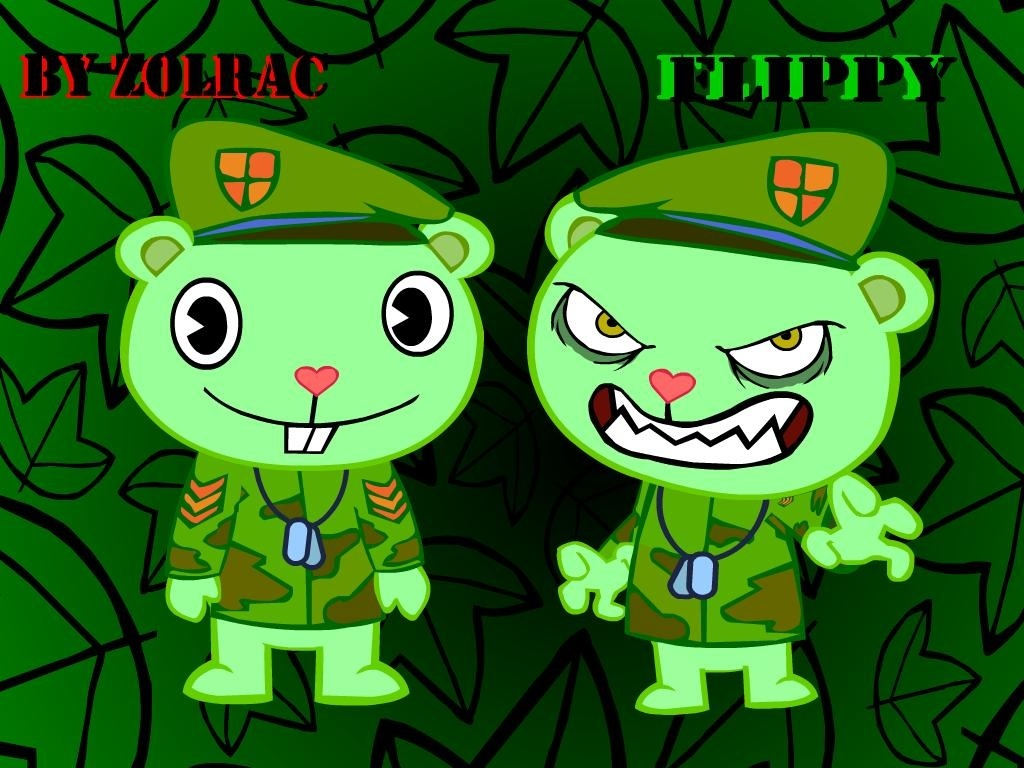 Fliqpy Friends Happy Tree Vs Flippy