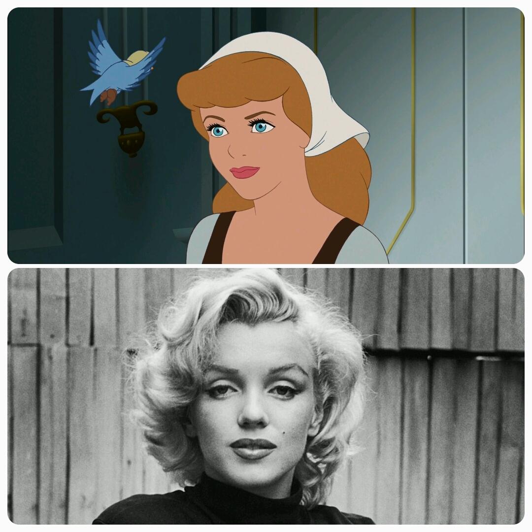 Image result for Cinderella Marilyn Monroe