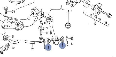 Audi A6 / A7 Klub Polska [A6 C4] Jak założyć podkładki
