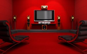 tv wallpapers gaming background wall desktop 3d theater living lounge center decor awesome cinema space theatre setup designs