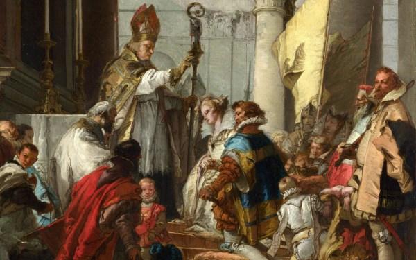 Marriage Of Emperor Frederick Barbarossa Beatrice