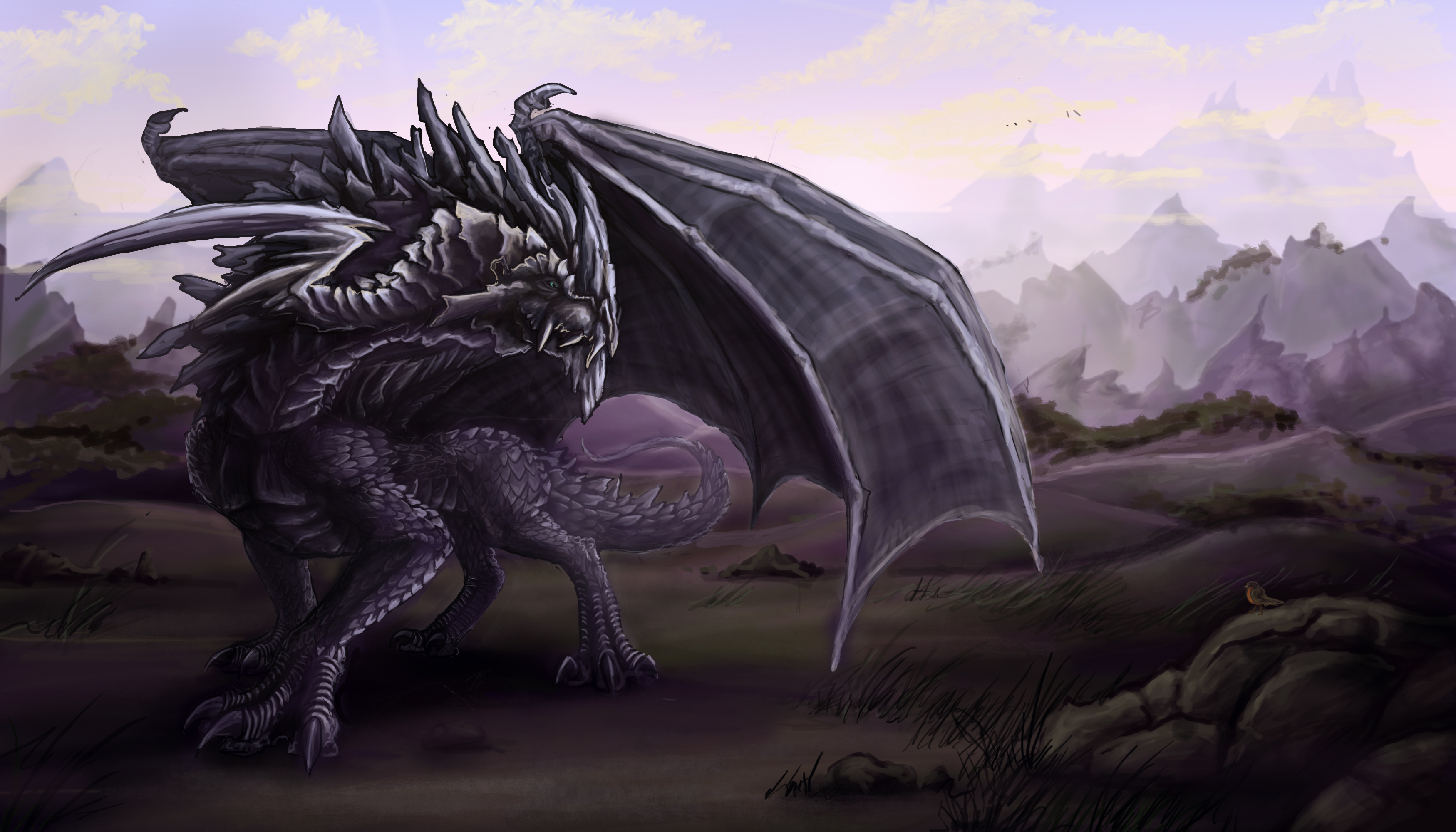 Wallpaper Iphone 5 Cute Purple Black Dragon Full Hd Wallpaper And Background Image