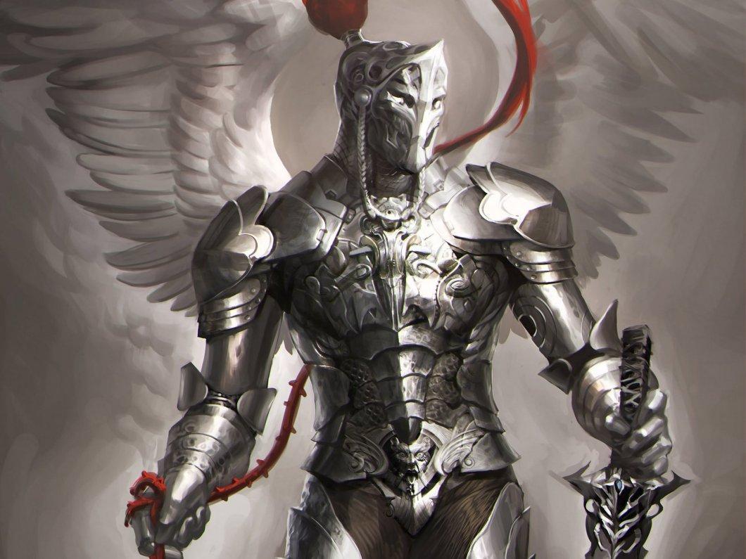 Dark Angel Knight Warrior Wallpaper Full Hd And Background Image 1920x1440 Id