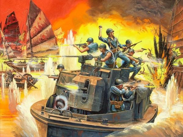 Vietnam War Art Mort Kunstler