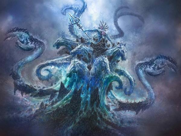 Poseidon God of War Art