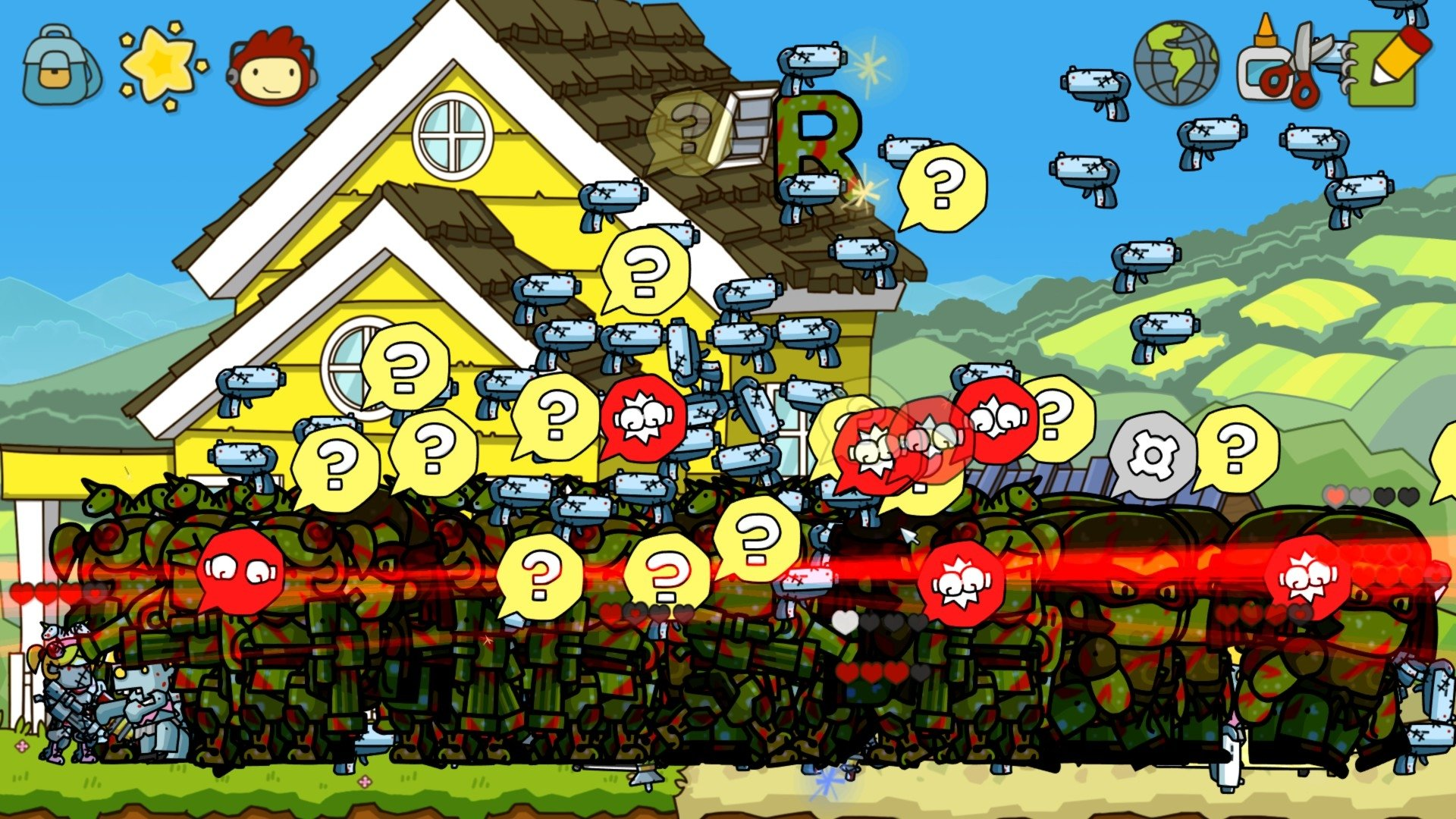 How To Use Gif As Wallpaper Iphone X Scribblenauts Unlimited Full Hd Wallpaper And Background