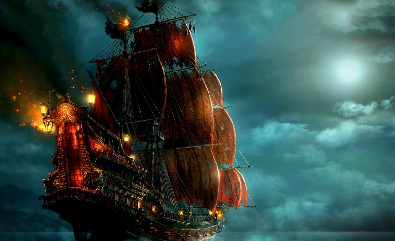 ship wallpaper and background | 1680x1025 | id:339161