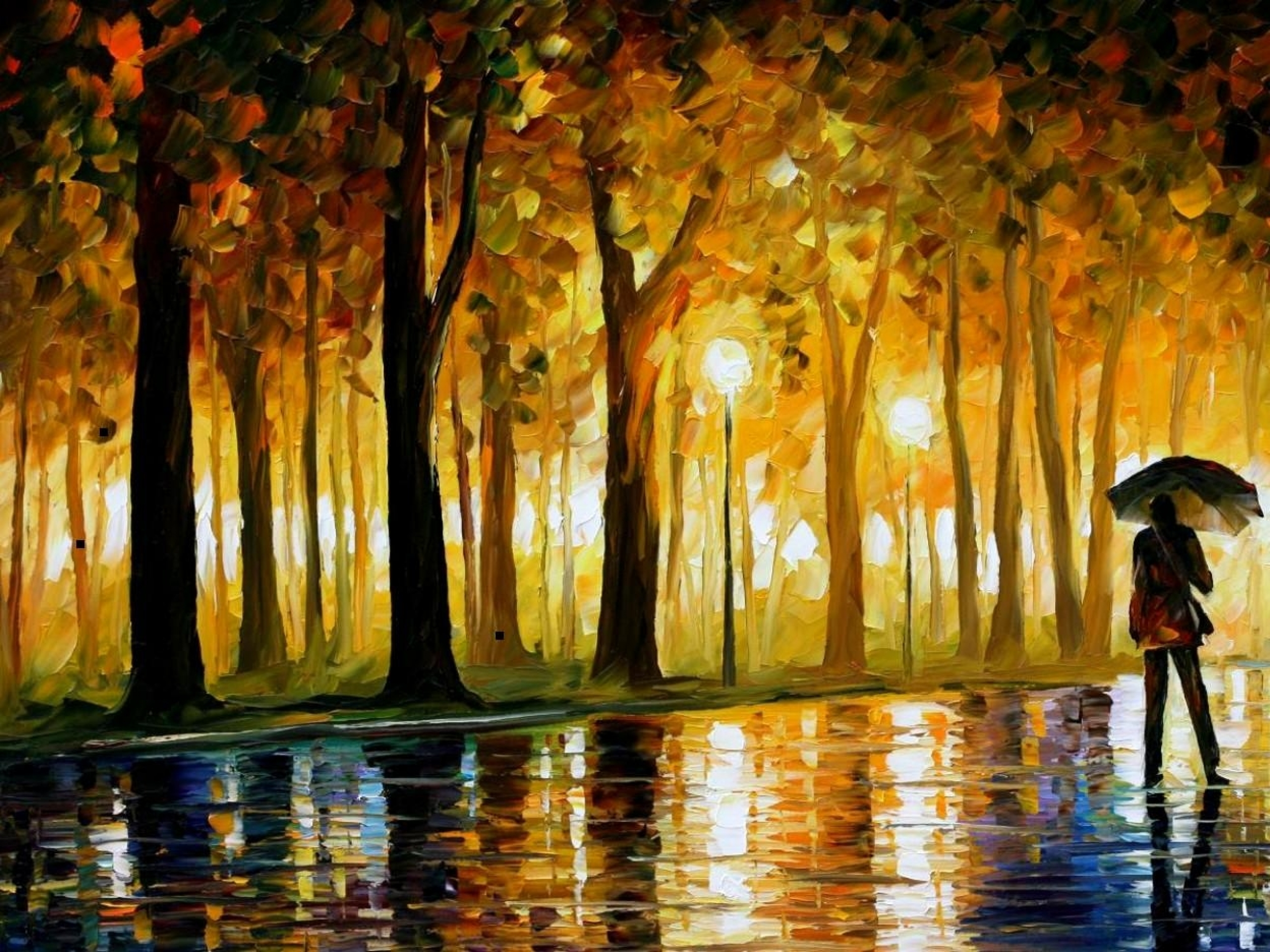 60 Oil Painting HD Wallpapers
