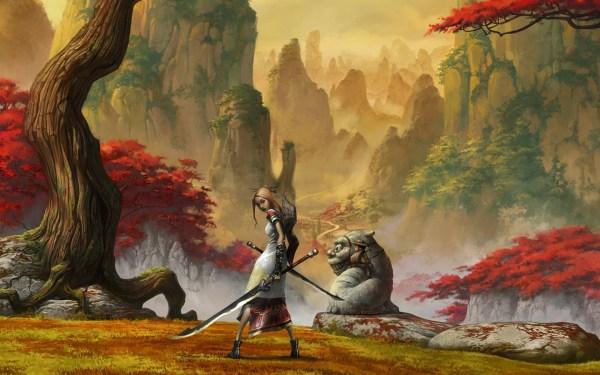 Alice in Wonderland Concept Art Wallpaper
