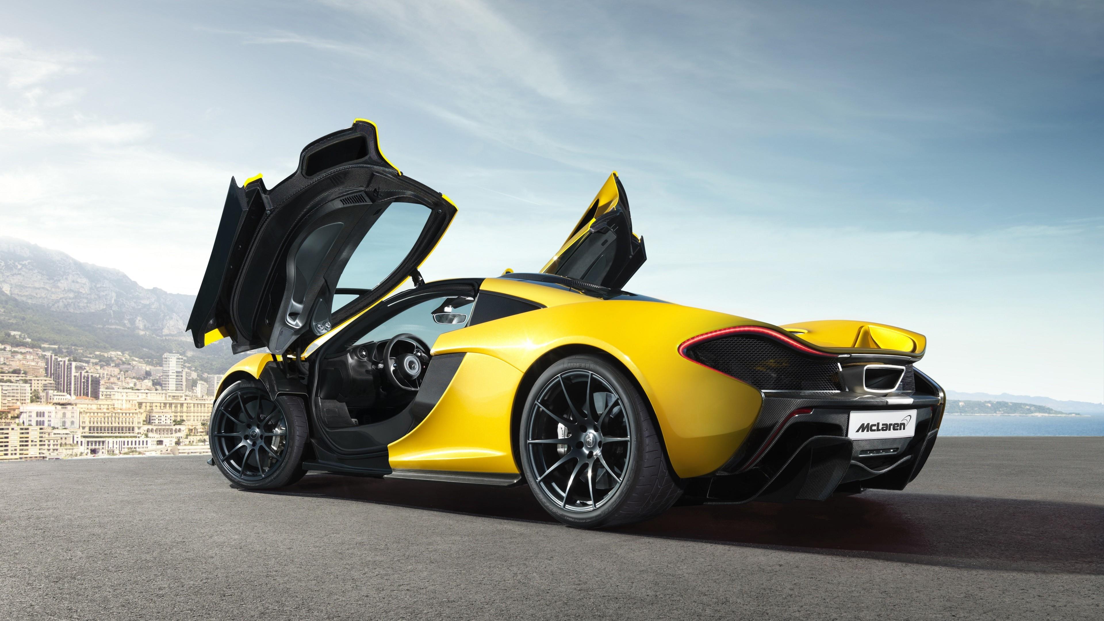 833 yellow car hd