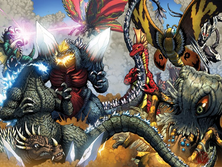 Image result for godzilla rulers of earth