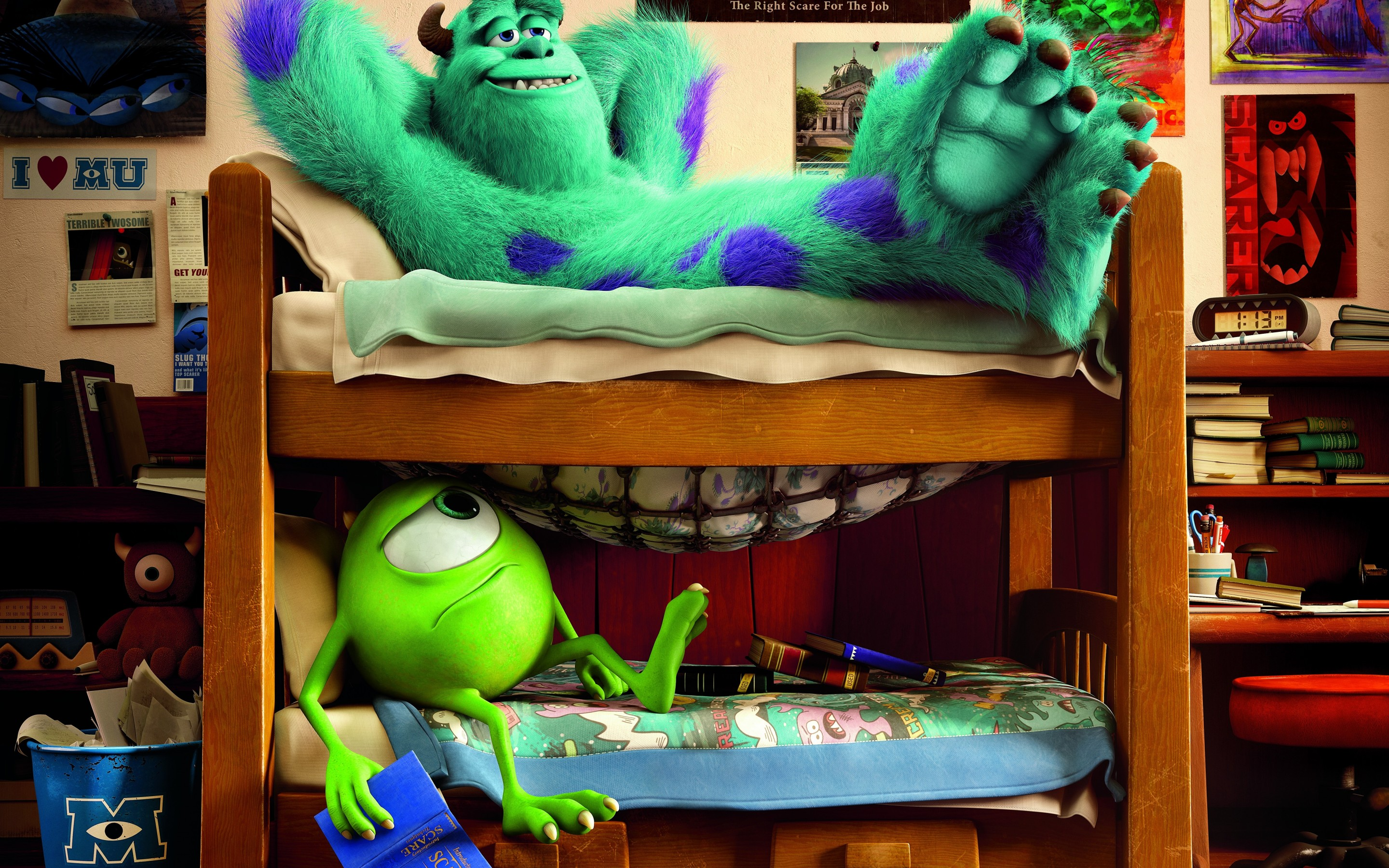 Cute Boo Desktop Wallpaper Monsters University Full Hd Wallpaper And Background Image