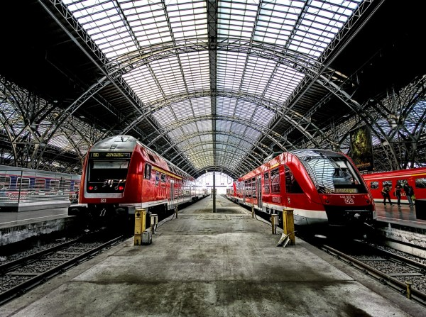 Railway Railroad Trains Stations