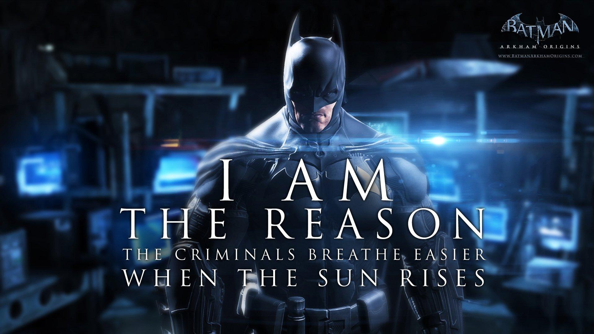 Computer Wallpaper Quote City Batman Arkham Origins Full Hd Wallpaper And Background